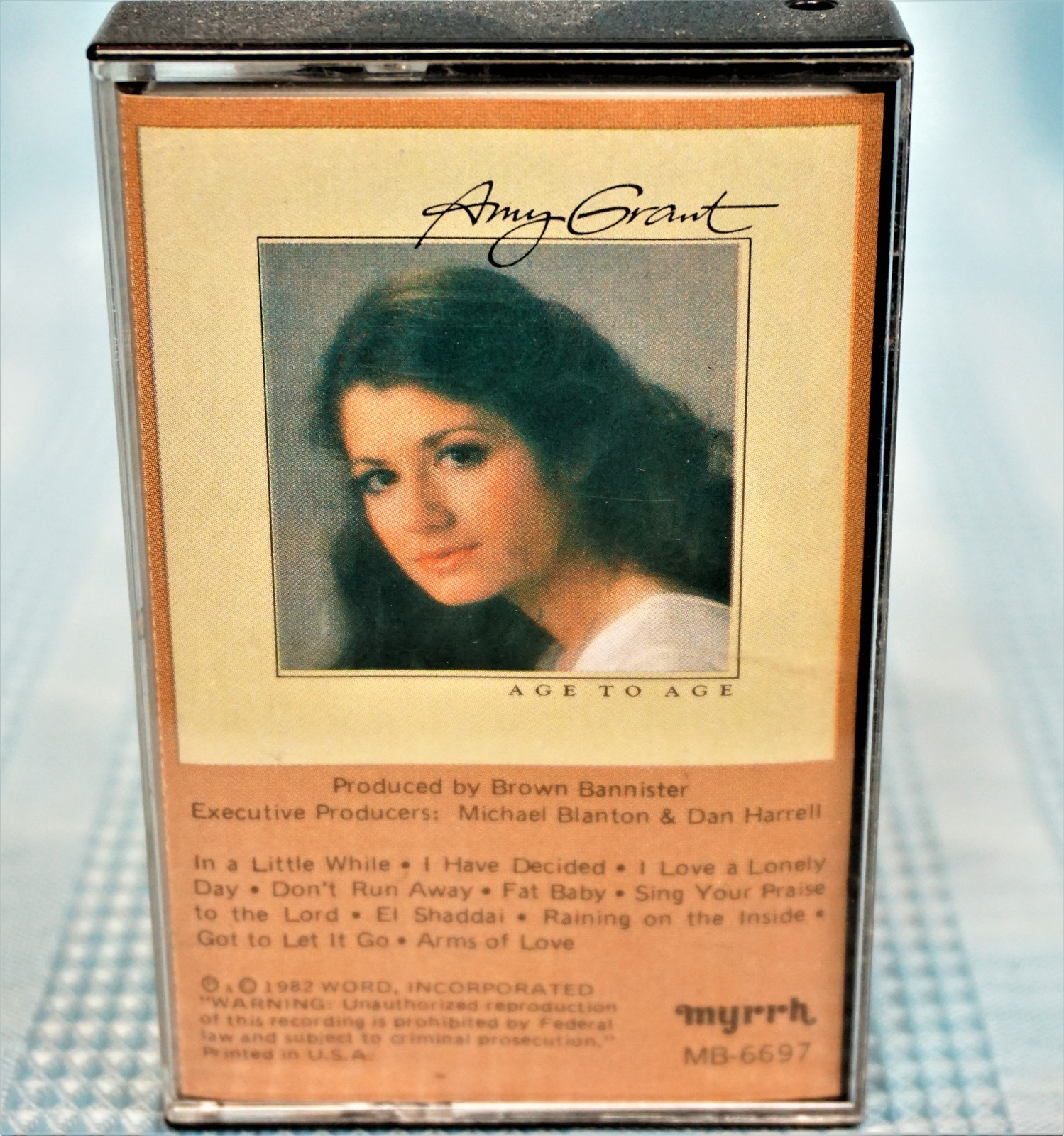 Primary image for Amy Grant  Age to Age  Cassette Tape