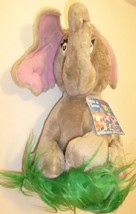 "DR Seuss HORTON Who Hatches the Egg Elephant stuffed Doll plush 12"", 198... - $44.99"