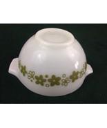 Pyrex Cinderella Mixing Bowl 1.5 Pint Spring Blossom Green Crazy Daisy 441 - $14.01