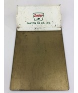 Vintage Sinclair Gas Oil Credit Card Clipboard Canyon Oil Co - $49.49