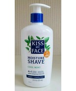 Kiss My Face Cool Mint 4 in 1 Moisture Shave Pump 11 oz Discontinued New - $24.74