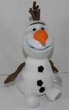 Disney Store FROZEN OLAF SNOWMAN STUFFED PLUSH DOLL Soft CHARACTER TOY Cute - $13.50