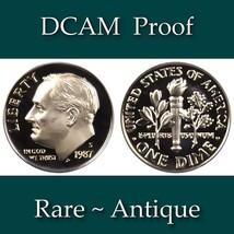 1987-S Roosevelt Dime - DCAM Proof - $2.29