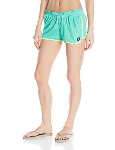 Hurley Junior's Mesh Beachrider Dri-Fit Short, Menta, X-Large