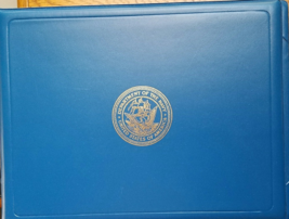 Department of the Navy United States of America Souvenir Photo Album Cas... - $15.95