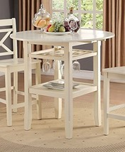 Acme Furniture 72545 Tartys Counter Height Table, Cream - $479.19