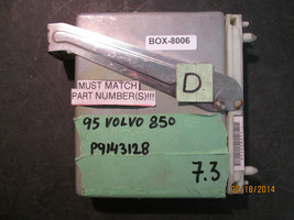 1995 VOLVO 850 ECM  #P9143128 *See description and match #* (box-8006)  ... - $34.64