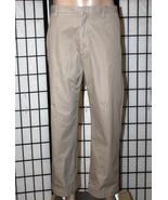 BANANA REPUBLIC Men's 38 x 30 (Actual 40 x 29) Khaki Flat Front Pants Ch... - $28.05