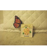 CHarming Tails - BUTTERFLY SMELLING ZINNIA !  SEED PACK - $35.63