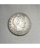 1912-D Silver Barber Half Dollar Coin AJ-588 - $26.06
