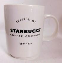 Starbucks 2018 Seattle, WA Washington Est. 1971 - 14oz Ceramic Coffee Mug - $9.77