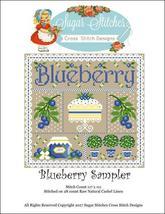 Blueberry Sampler cross stitch chart Sugar Stitches Designs  - $10.00