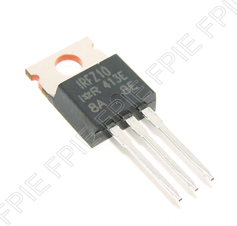 IRFZ10 N-CH MOSFET 60V, 10A, TO-220AB International Rectifier