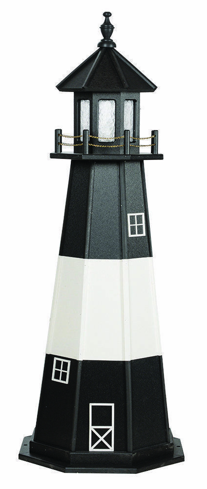 Primary image for TYBEE ISLAND LIGHTHOUSE Georgia Savannah River Working Replica 6 Sizes AMISH USA