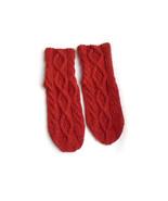 Knitted wool socks  - $23.00