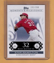Topps Moments & Milestones - Josh Hamilton 2007 Rookie Season  131/150 - $5.36