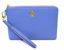 Tory Burch Landon Large Wristlet Blue Dusk RRP £165 - $164.37