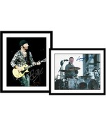 "Adam Clayton & The Edge Signed Autographed Lot of (2) ""U2"" Glossy 8x10 Photos - $99.99"