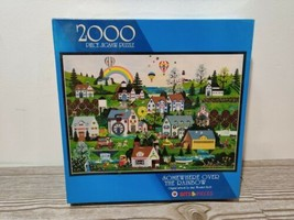 SEALED Jane Wooster Scott Somewhere Over the Rainbow 2000 Piece Puzzle - $40.84