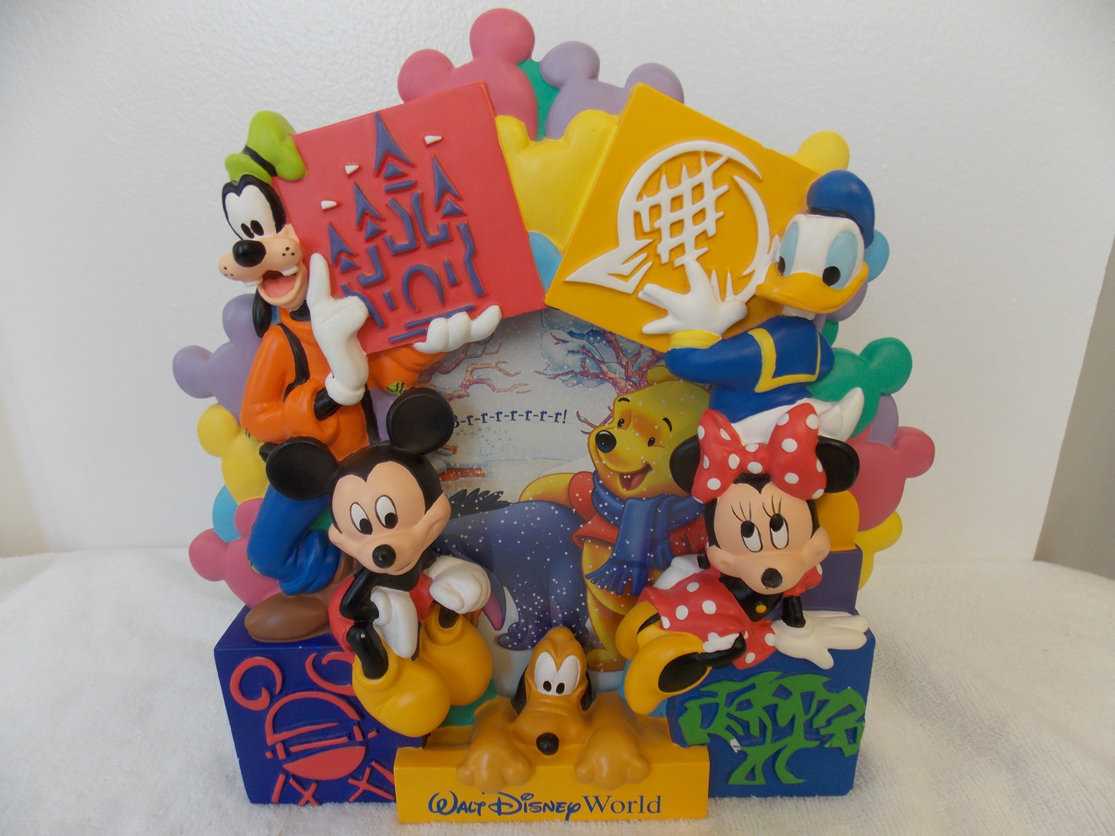 Walt Disney World Fab 5 Parks Photo Frame and 26 similar items