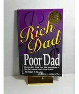 RICH DAD POOR DAD BY ROBERT T. KIYOSAKI WITH SHARON L LECHTER CPA WARNER... - $12.72
