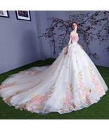 Chic / Beautiful Multi-Colors Wedding Dress Ball Gown - $843.75