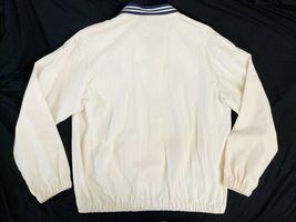 Vintage Beige Ralph Lauren Windbreaker Zip Jacket USA Made Sz Medium M image 5
