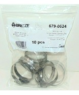 """10 pk-Breeze 63036 Power Seal Marine Stainless Steel Hose Clamp 1-13/16""""... - $7.81"""