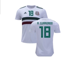 NWT MÉXICO WORLD CUP ANDRES GUARDADO FAN AWAY JERSEY  - $54.99