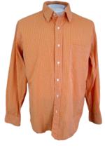 J CREW Men shirt DRESS lng sleeve pit to pit 24 slim fit sz L 16-16½ cot... - $15.83