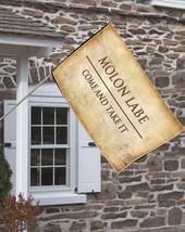 Molon Labe Come & Take It Decorative House Flag - $16.78