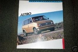 1986 Chevrolet  Astro Brochure - $2.00