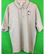 Warner Bros TAZ Real Swinger Gray Golf Shirt Large Collectable - $11.30