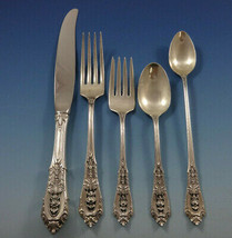 Rose Point by Wallace Sterling Silver Flatware Set 12 Service 78 Pcs Dinner Size - $5,900.00