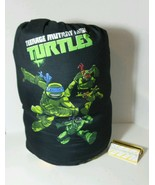 TMNT NICKELODEON SLEEPING BAG FOR YOUTH SIZE 28 INCH X 56 INCH POLYESTER... - $14.69