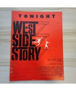 """Vocal Selections from """"West Side Story"""" - 1957 Vintage Sheet Music - $11.87"""