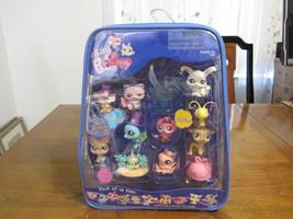LITTLEST PET SHOP PACK OF 10 PETS +accessories 2008 Hasbrow NIB New neve... - $40.00
