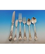 American Victorian by Lunt Sterling Silver Flatware Set for 12 Dinner Se... - $4,650.00