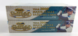 (2) 2000 Topps Gold Label Baseball Box - 24 Packs - 5 Super Premium Cards Per image 3