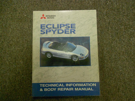 2001 MITSUBISHI Eclipse Spyder Technical Info & Body Repair Service Manu... - $25.09