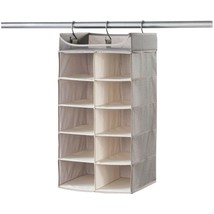 neatfreak 07752 PAT072-004 Harmony Twill Collection Hanging 2 x 5 Cubby ... - $41.08
