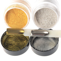 Mirror Glitter Powder Nail Art Pigment Chrome Manicure Gold/Silver - $14.10