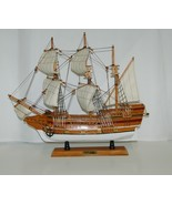Mayflower 8819652B Wooden Ship Full Sail 19 by 17 Inches Detailed - $59.99