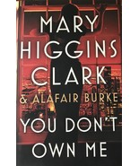 You Don't Own Me, Mary Higgins Clark, Crime, Suspense, Love, Action & Ad... - $10.95