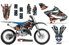 Dirt Bike Decal Graphic Kit MX Wrap For Yamaha YZ125 YZ250 2015-2018 WW2... - $168.25