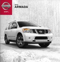 2013 Nissan ARMADA sales brochure catalog US 13 SV SL Platinum Reserve - $8.00