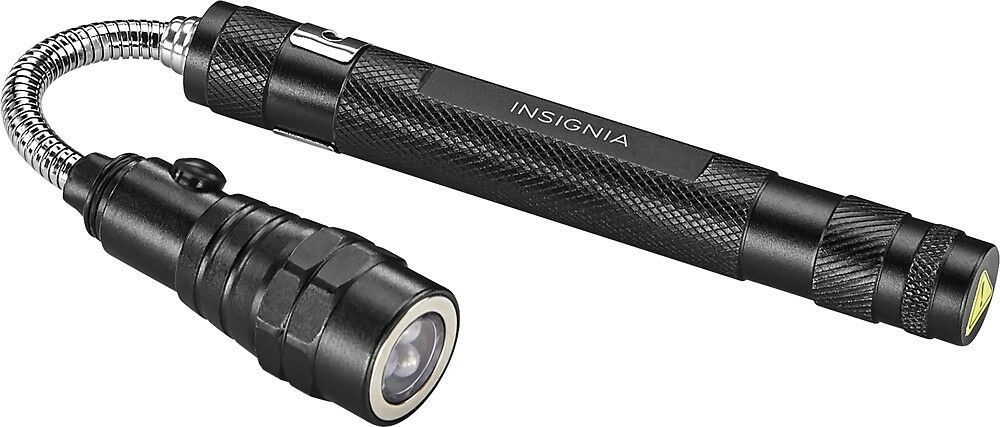 Insignia™ - Magnetic Telescoping Flashlight Long Extendable and Flexible NEW FS!