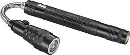 Insignia™ - Magnetic Telescoping Flashlight Long Extendable and Flexible NEW FS! image 3