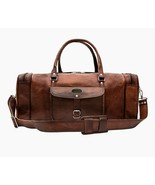 Genuine  Leather Weekender Duffel Bag Best Gift For Fathers On This Pare... - $65.22+