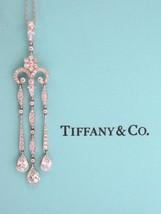 Tiffany & Co Platinum LEGACY Triple Bar Drop Pendant 2.77CT - $10,395.00
